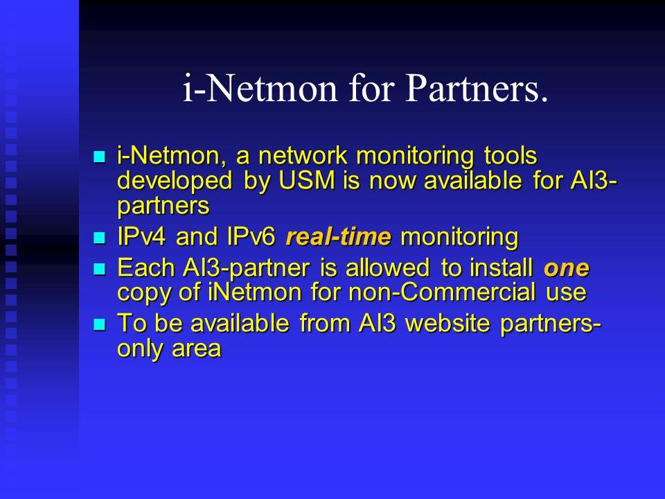 i-Netmon for Partners.