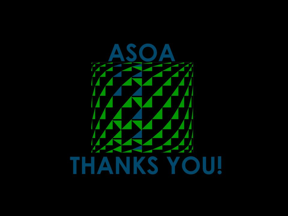 ASOA THANKS YOU!