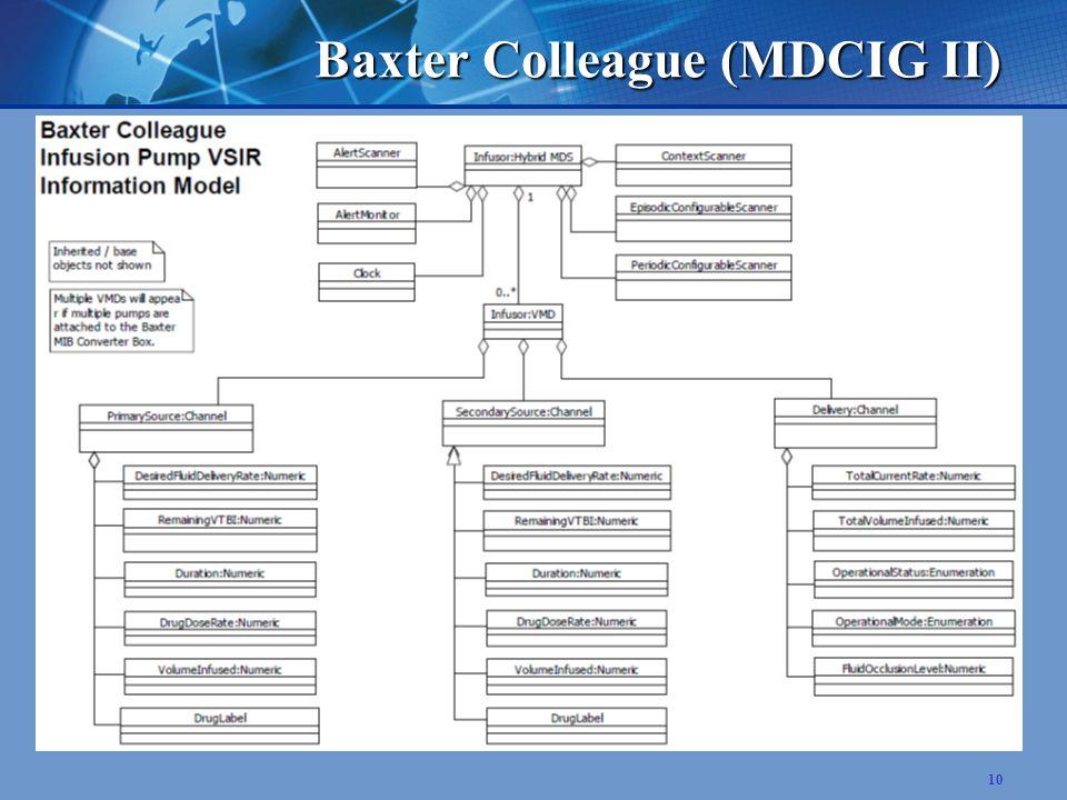 10 Baxter Colleague (MDCIG II)