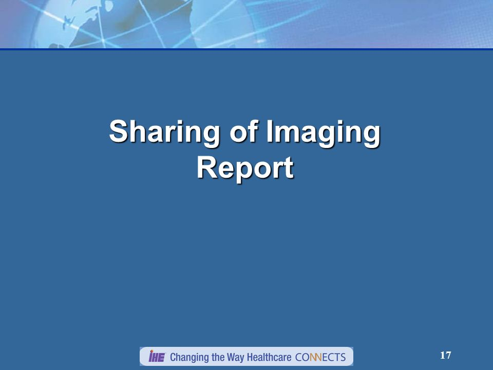 17 Sharing of Imaging Report