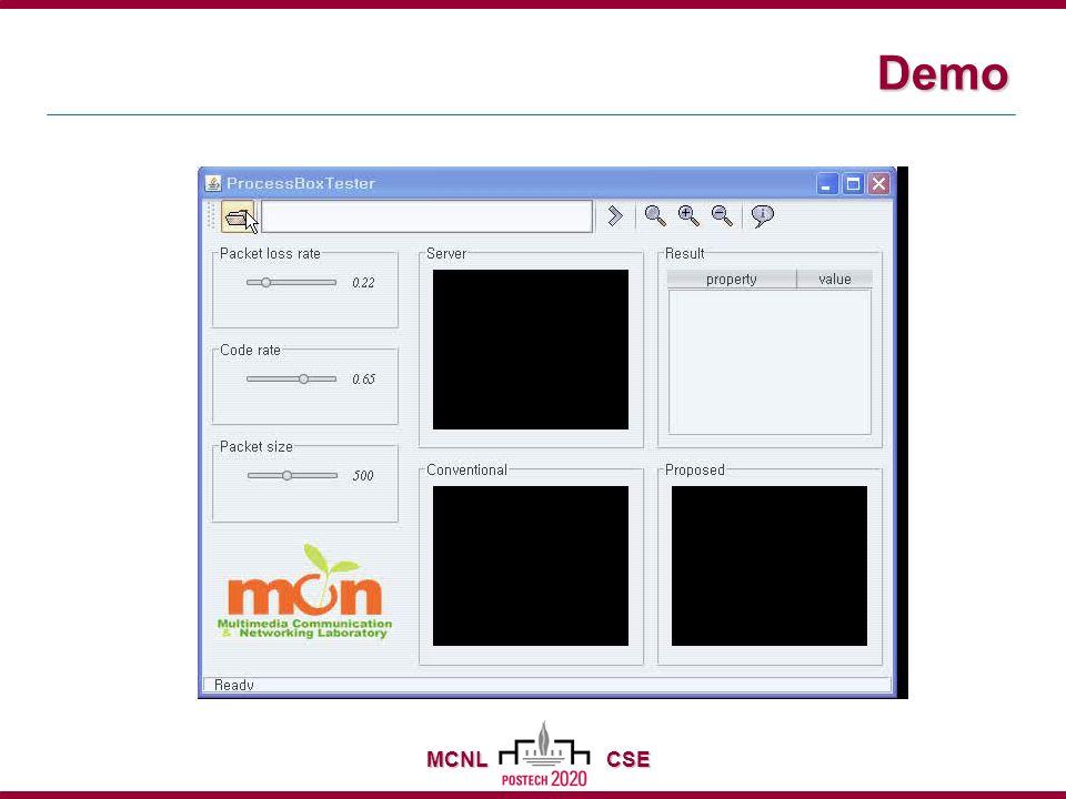 MCNL CSE Demo