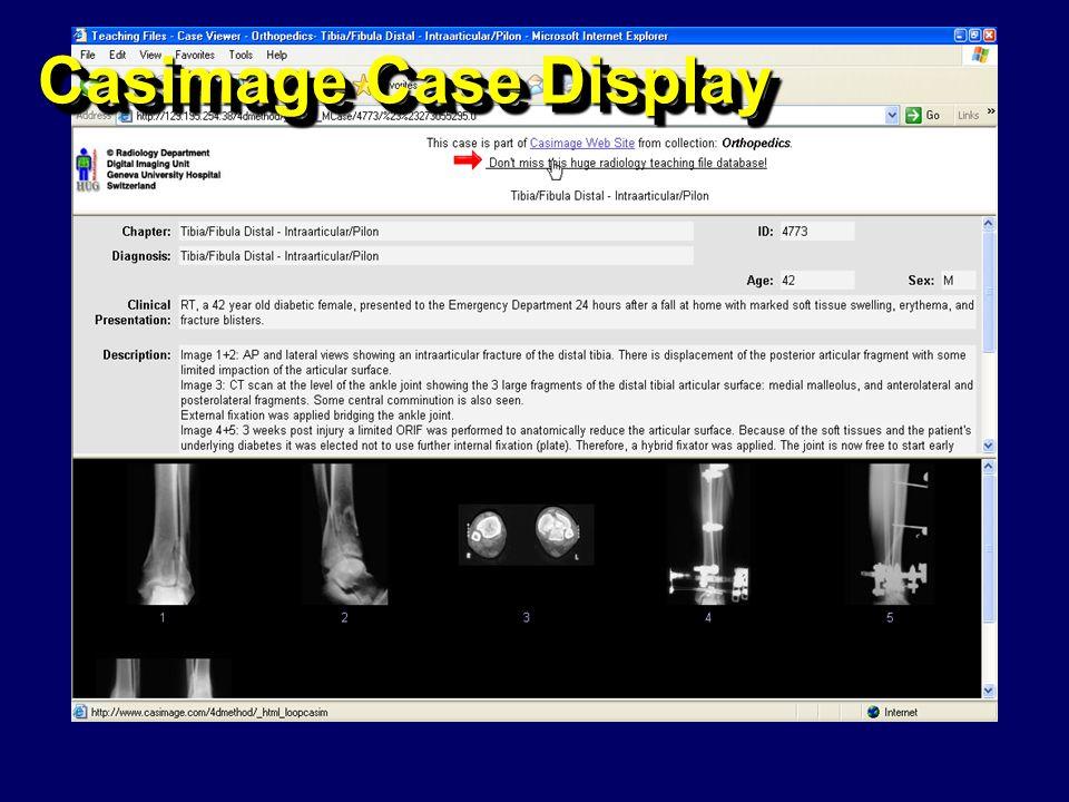 Casimage Case Display
