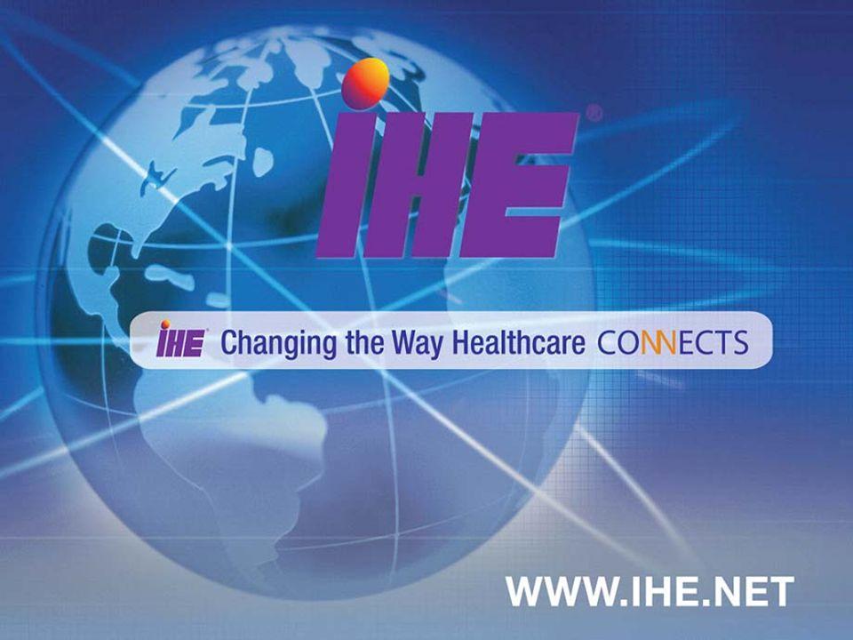 www.ihe.net June - September 2009 26