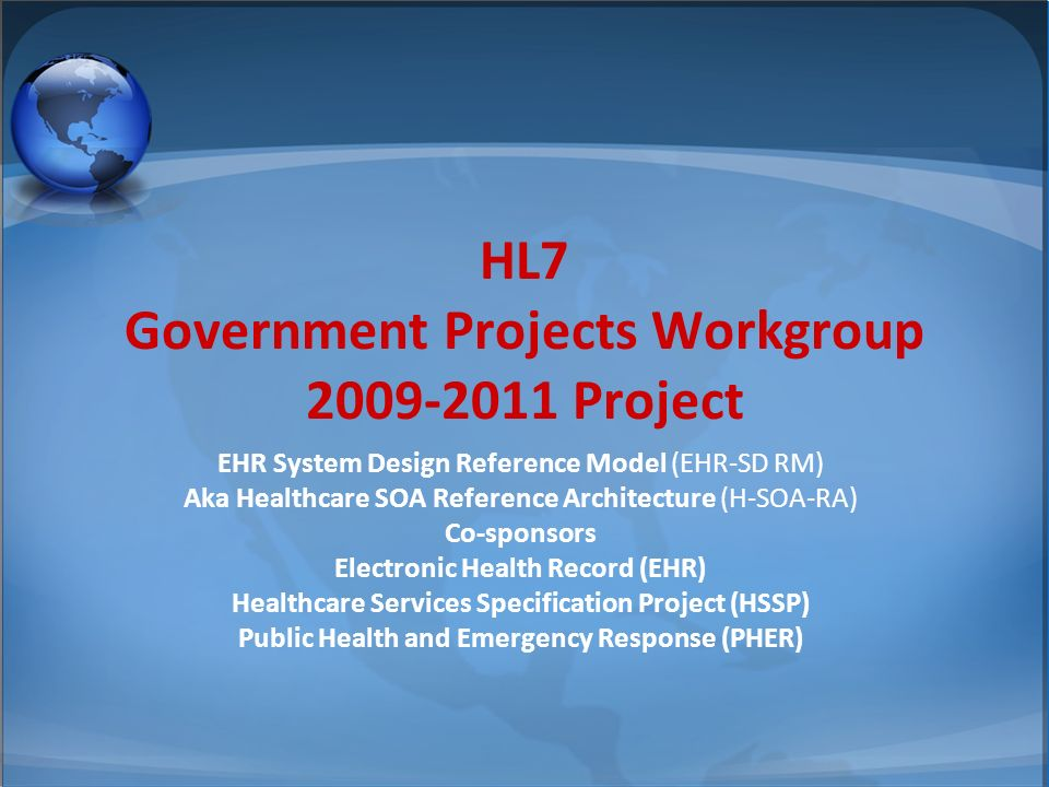 © 2002-2008 Health Level Seven ®, Inc.All Rights Reserved.