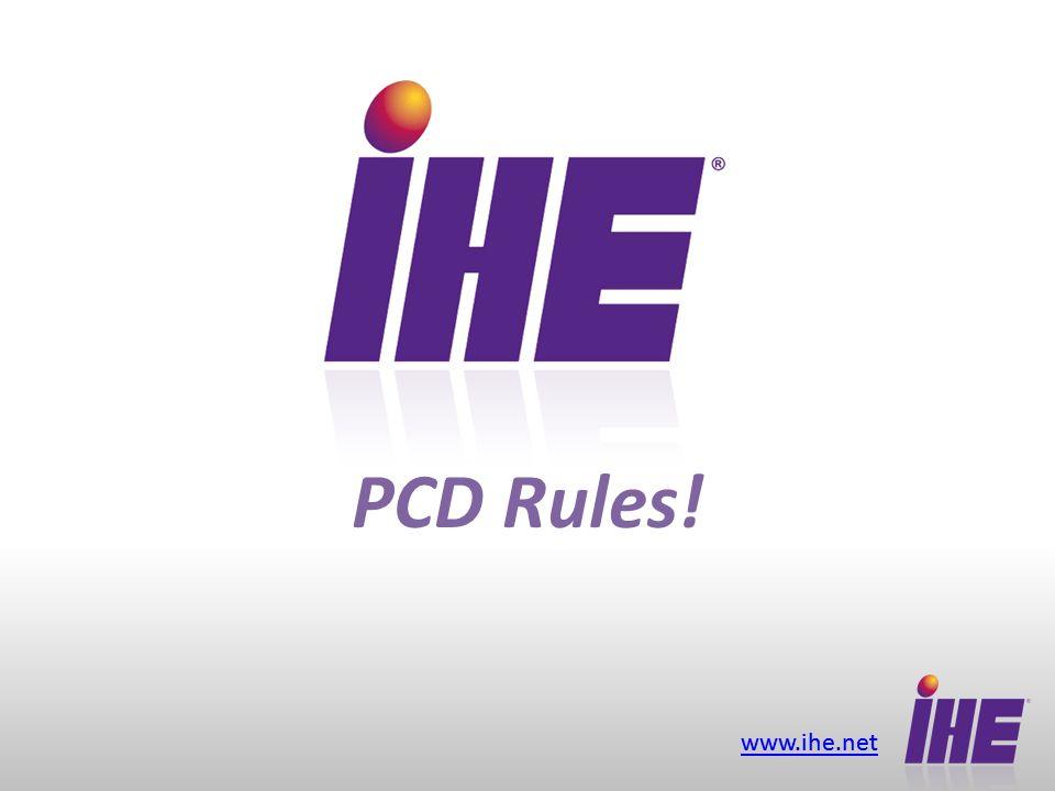 www.ihe.net PCD Rules!
