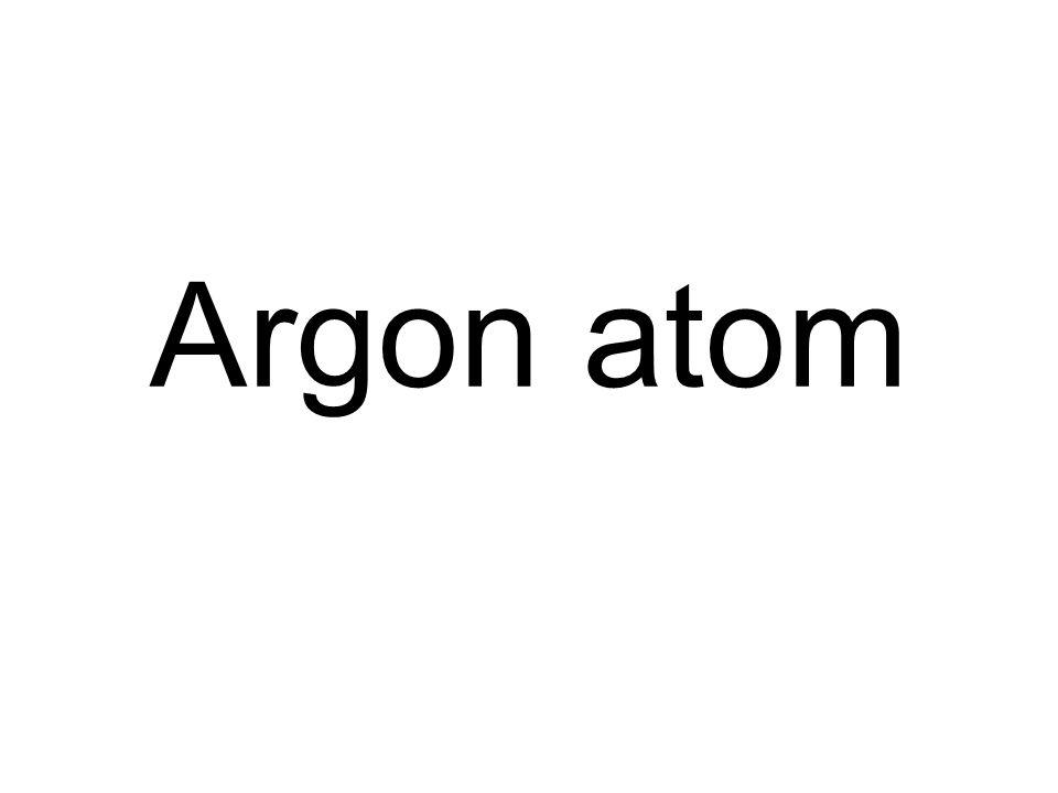 Argon atom