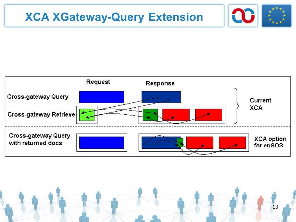13 XCA XGateway-Query Extension