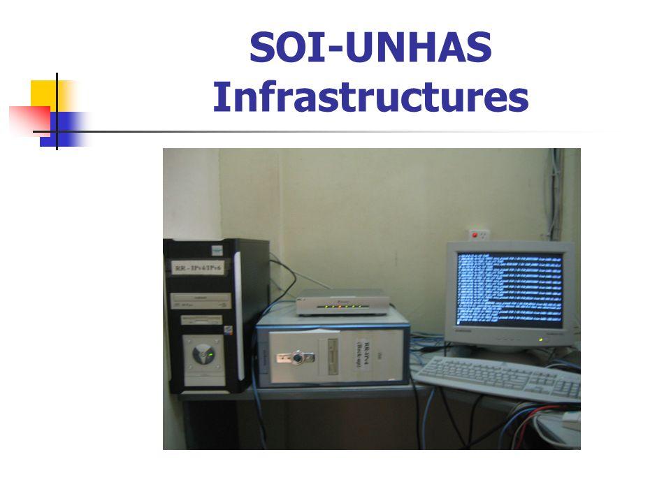 SOI-UNHAS Infrastructures