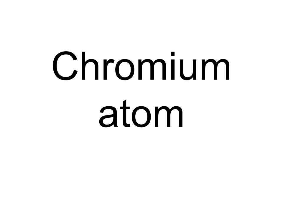 Chromium atom