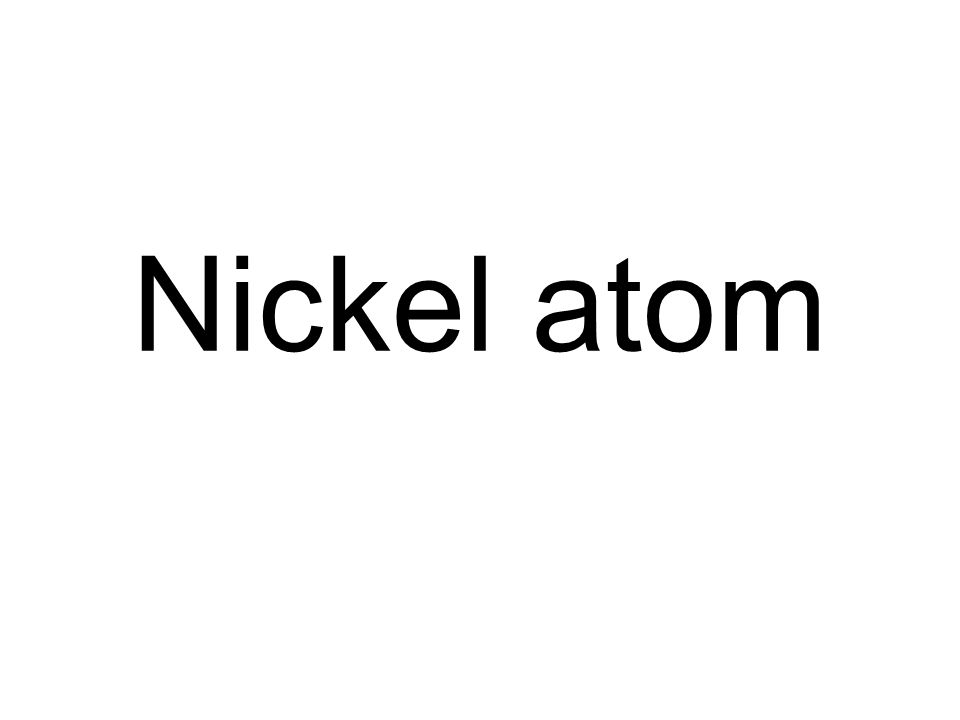Nickel atom