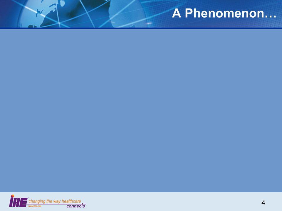 4 A Phenomenon…