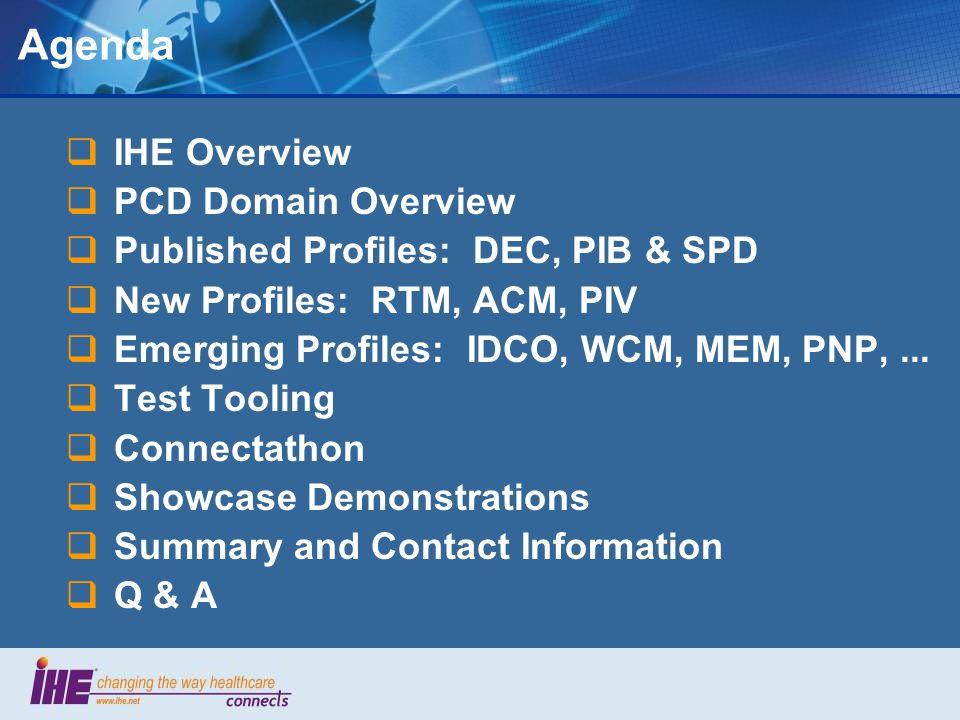 IHE PCD Profile: MEM