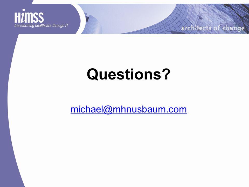 Questions michael@mhnusbaum.com