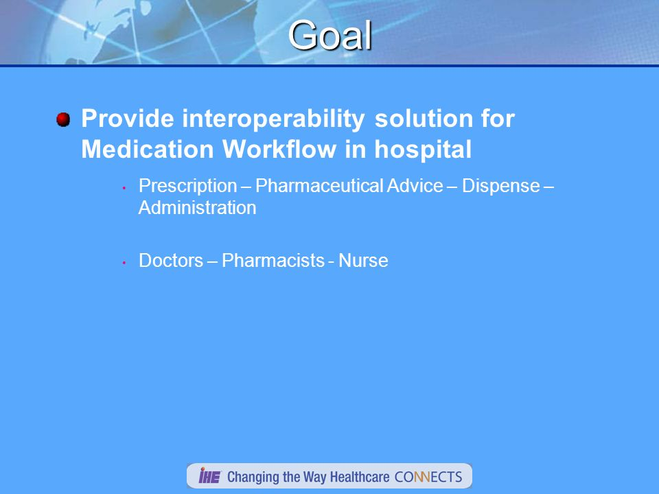 Next Define the needed / expected information in each message Validate model for expected scope In-scope: Define the actions needed by the Medication Dispenser, to address supply chain requirements