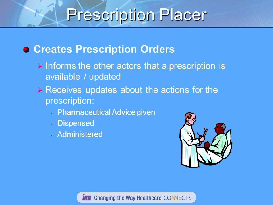 Prescription Placer Patient A.