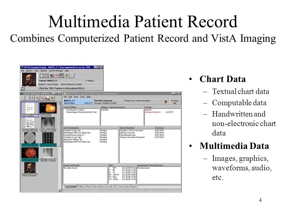 3 VistA & Computerized Patient Record System