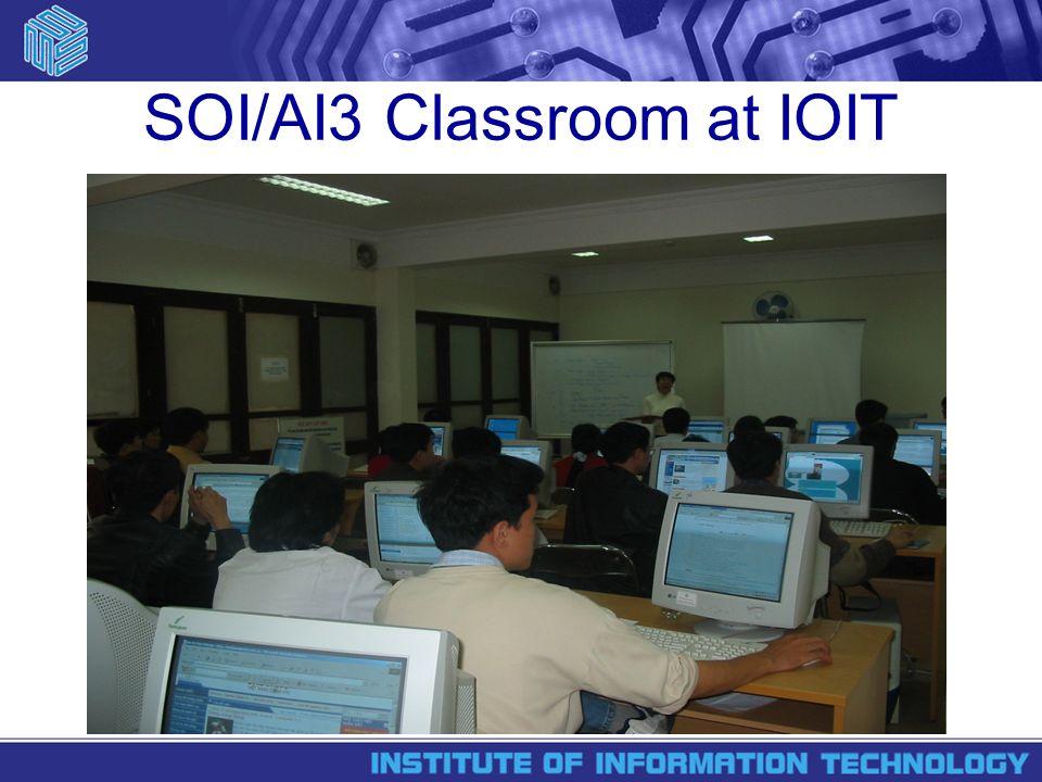 SOI/AI3 Classroom at IOIT