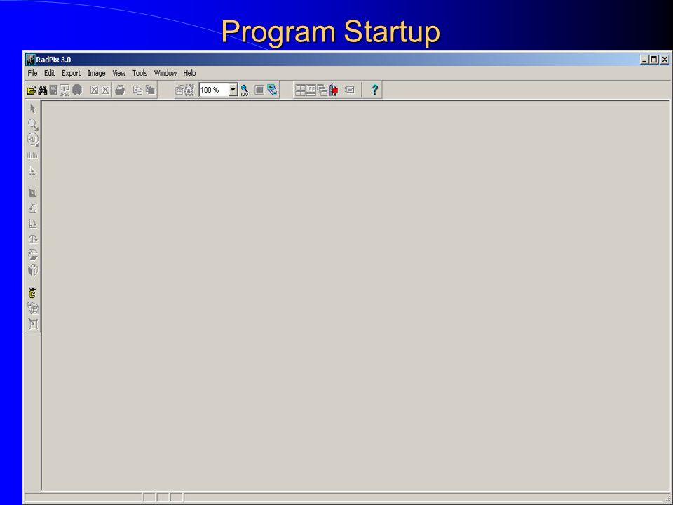 Program Startup