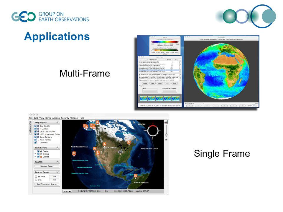 Applications Multi-Frame Single Frame