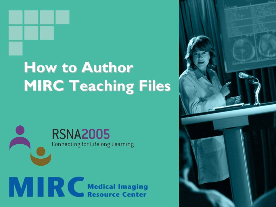 Authoring requires assembling images and text to submit to MIRC storage service.