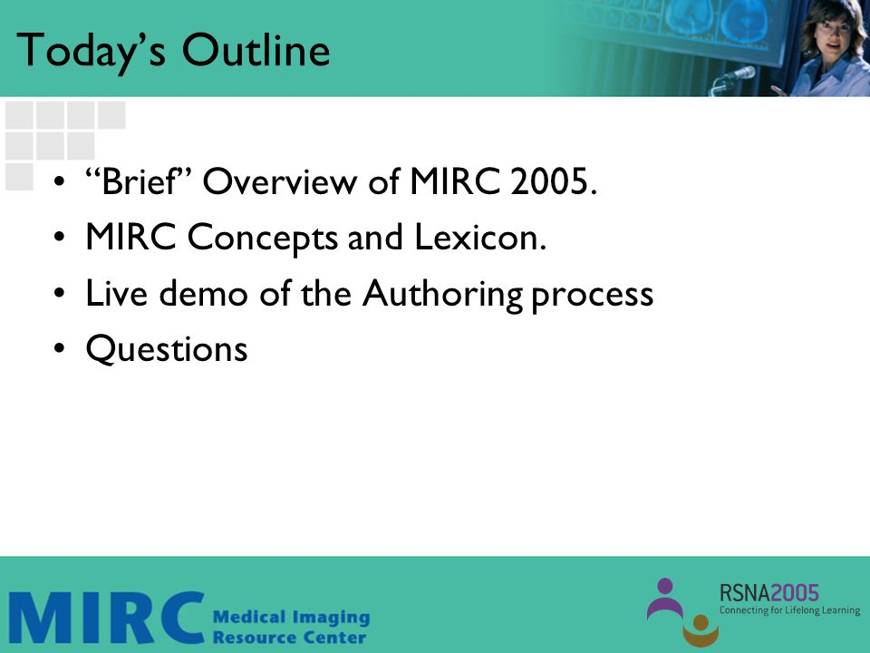 Brief Survey.Who has used MIRC to access cases/information.
