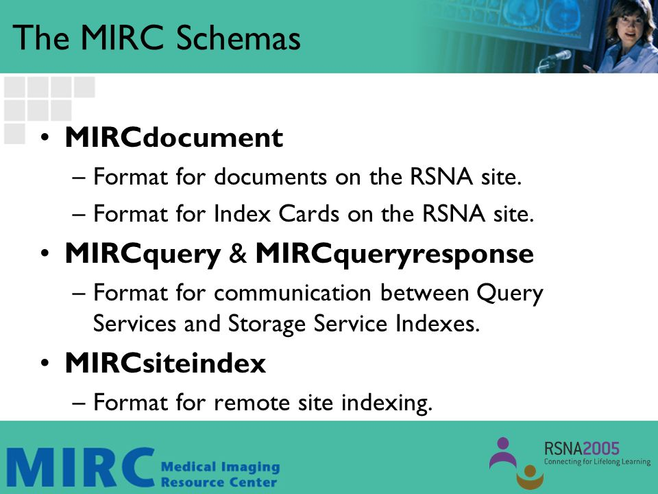MIRC Server Components Query Service –An entry point into the MIRC community for a user on the Internet.