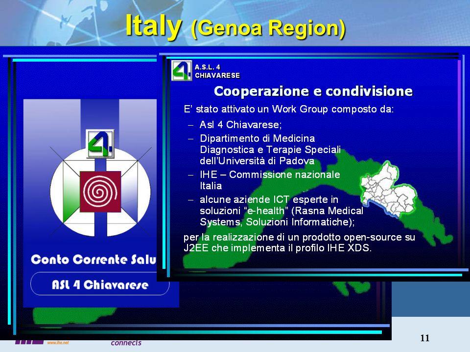 11 Italy (Genoa Region)