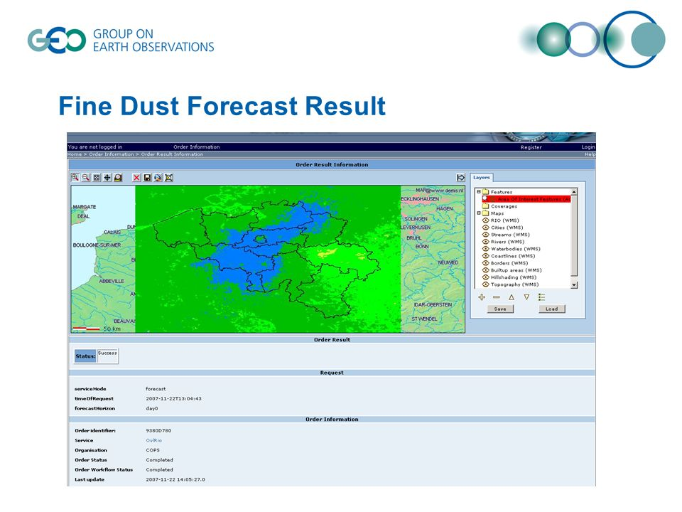 Fine Dust Forecast Result
