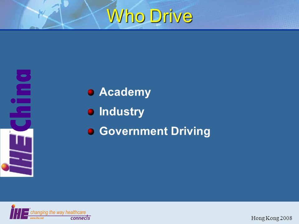China Hong Kong 2008 Who Drive Academy Industry Government Driving