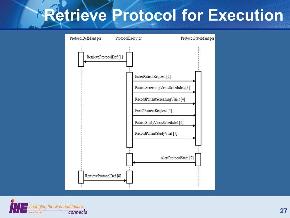 27 Retrieve Protocol for Execution