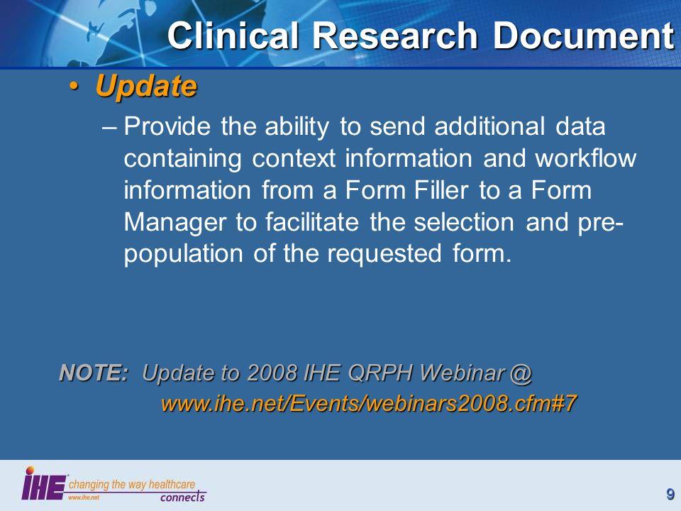 10DSC DSC Profile Drug Safety Content Trial Implementation
