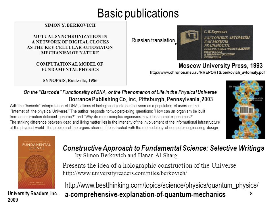 88 Basic publications SIMON Y.