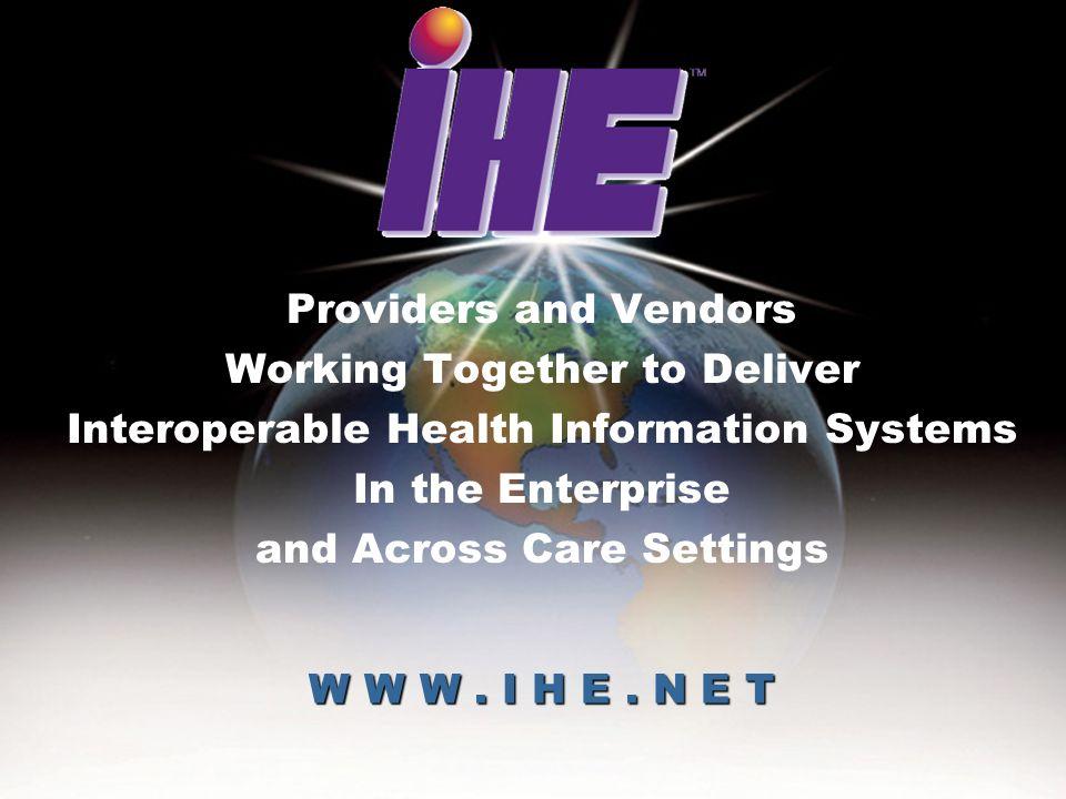 June 28-29, 2005IHE Interoperability Worshop41 More information….