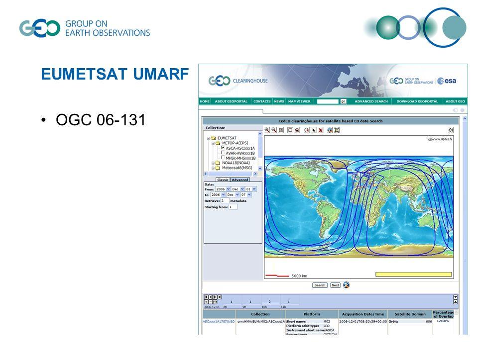EUMETSAT UMARF OGC 06-131