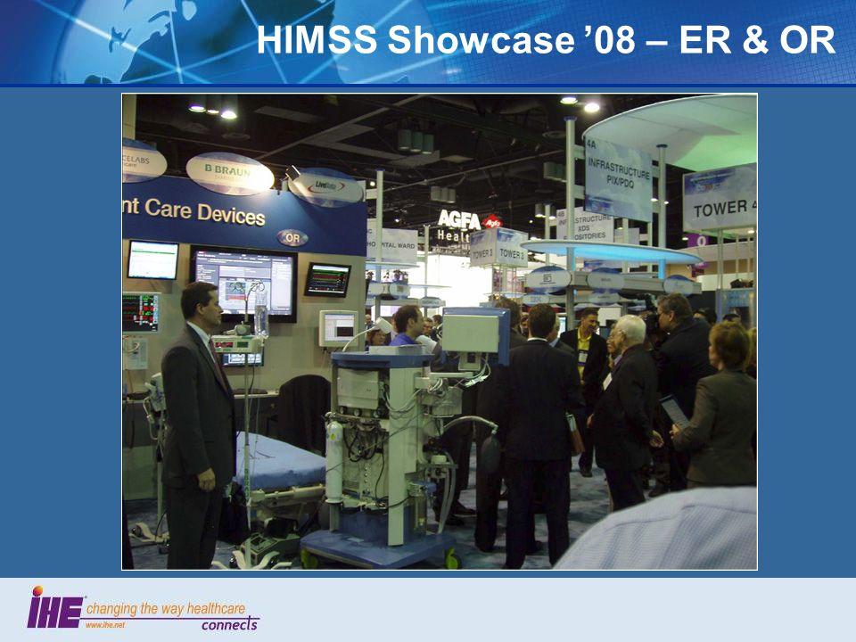 HIMSS Showcase 08 – ER & OR