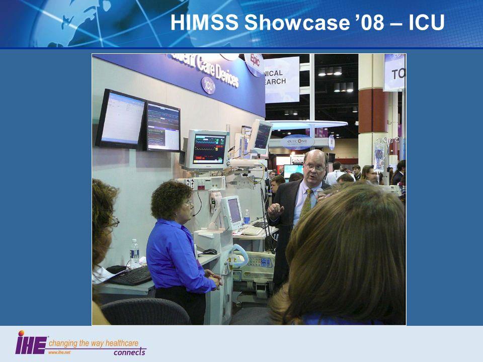 HIMSS Showcase 08 – ICU
