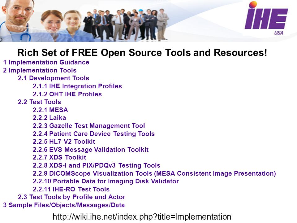 Rich Set of FREE Open Source Tools and Resources.