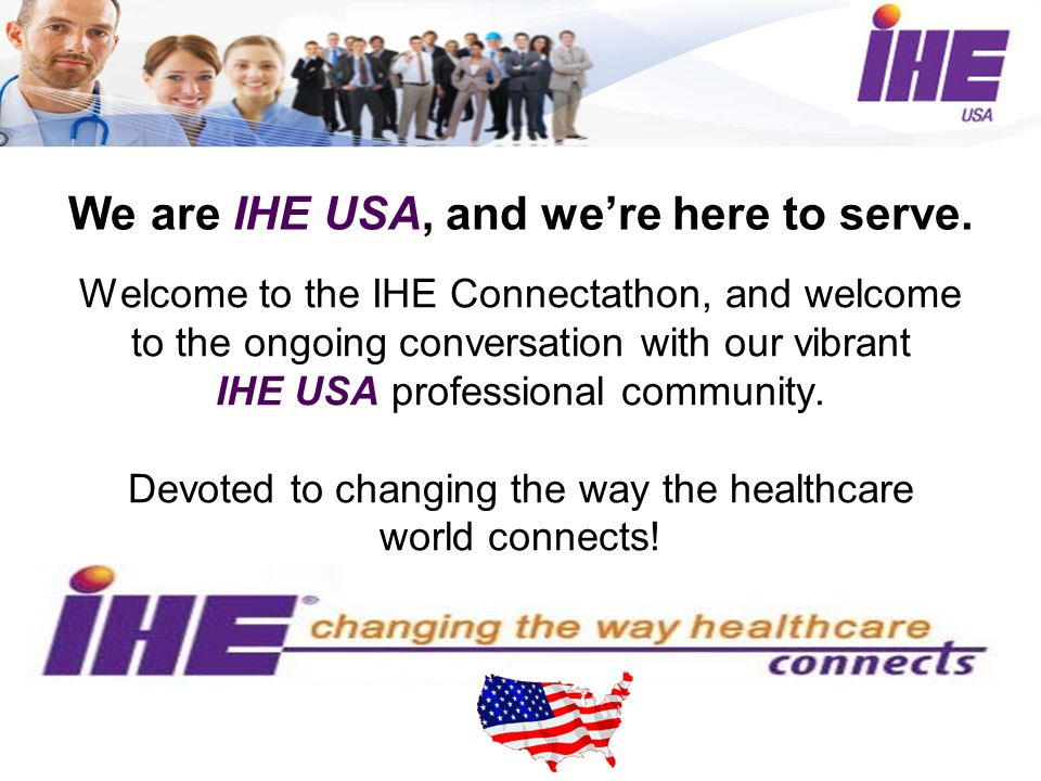 We are IHE USA, and were here to serve.