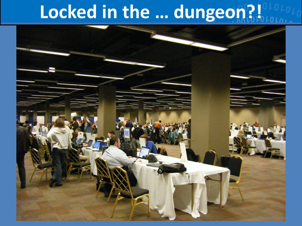 60 Locked in the … dungeon?!