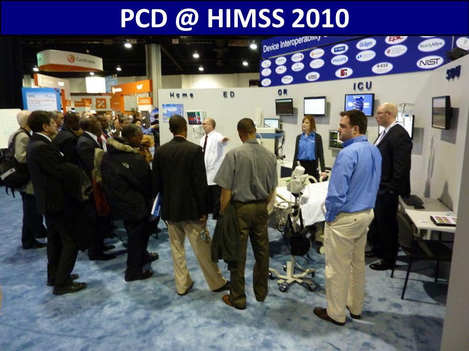 66 PCD @ HIMSS 2010