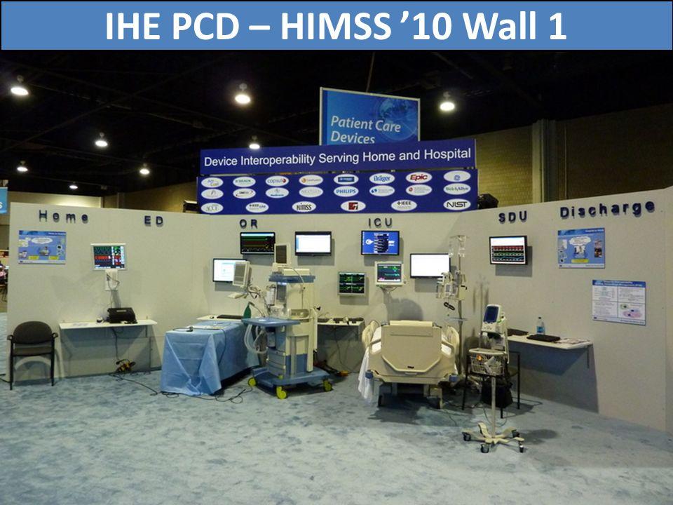 72 IHE PCD – HIMSS 10 Wall 1