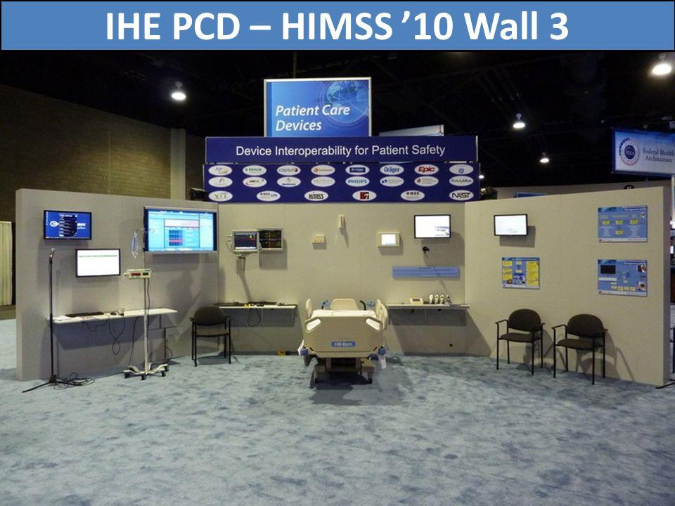 74 IHE PCD – HIMSS 10 Wall 3