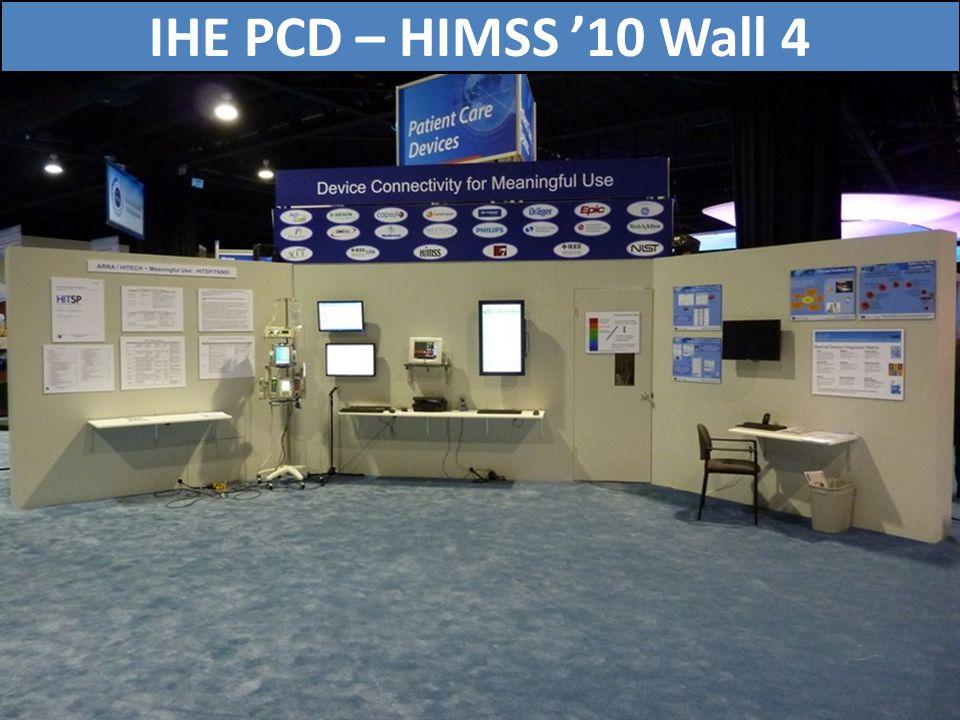 75 IHE PCD – HIMSS 10 Wall 4