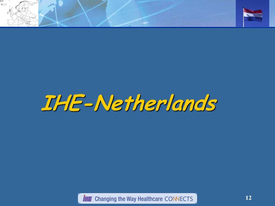 12 IHE-Netherlands