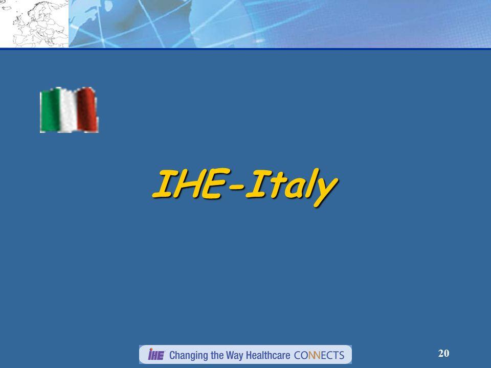 20 IHE-Italy