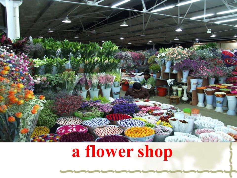a flower shop