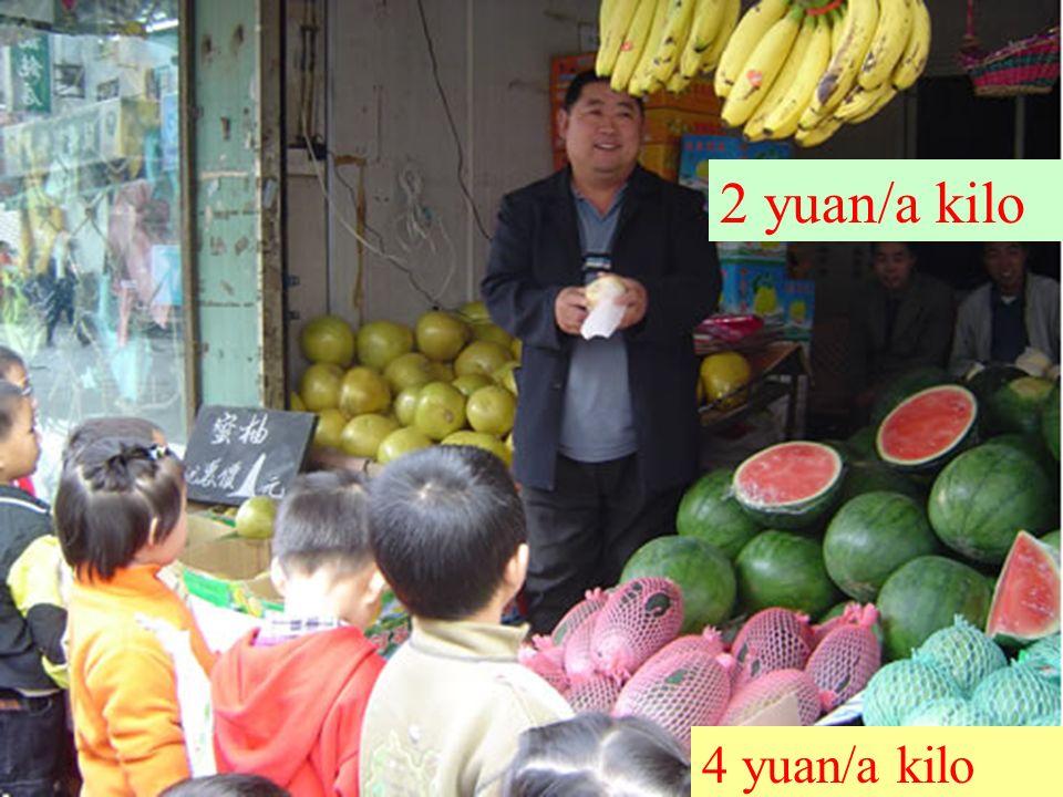 2 yuan/a kilo 4 yuan/a kilo
