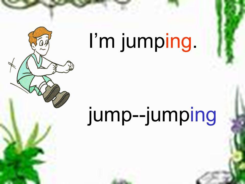 Im running. run---running