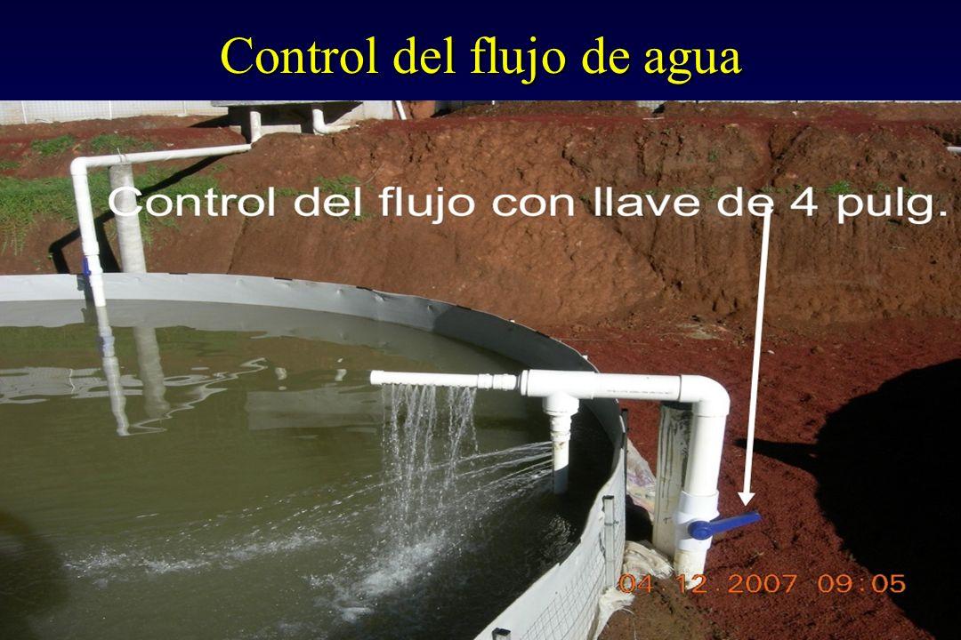 Control del flujo de agua