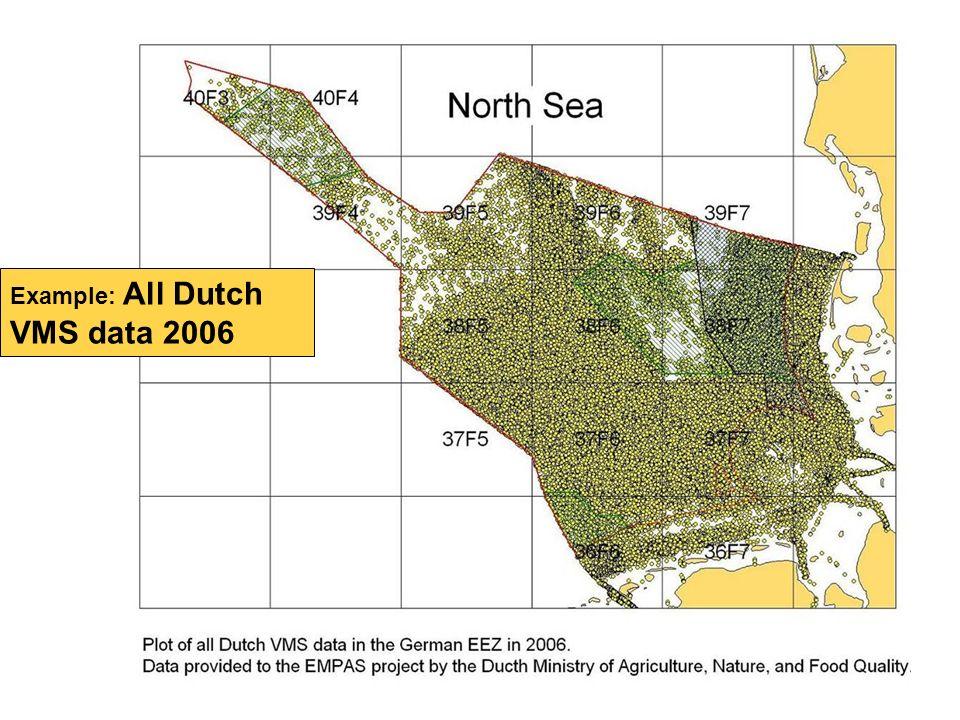 Example: All Dutch VMS data 2006